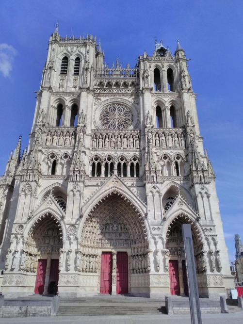 La cathedrale d'Amiens